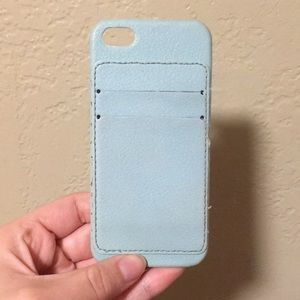 Wallet case for iPhone 5s